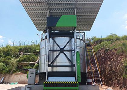 Fermenter for bioorganic fertilizer production