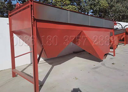 Fertilizer sieving equipment
