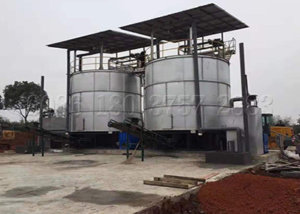 automatic organic waste composting equipment