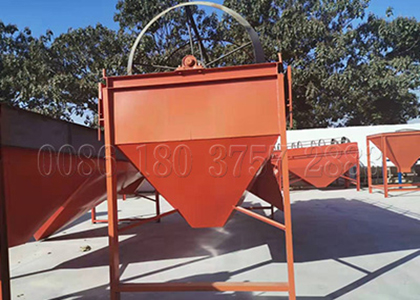 screening machine for fertilizer production lines
