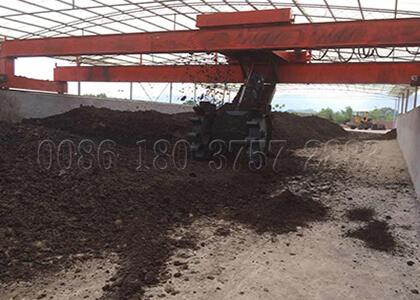3m wheel typewaste turnerfor organic compost production