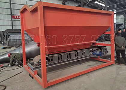 Batching equipment for mixing