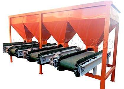 Compound fertilizer batching machine