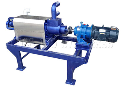Cow dung dewatering equipment