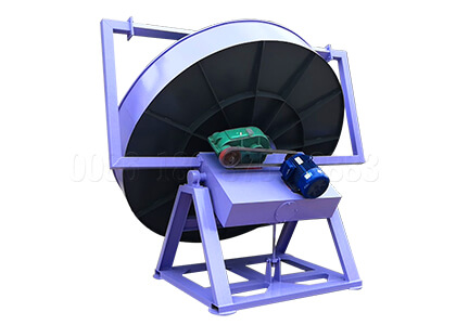 Customized pan granulator