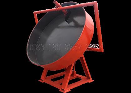 Disc pan wet granulation equipment