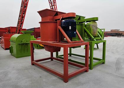 Fertilizer powder pulverizing machine