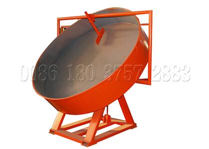 High output disc granulator