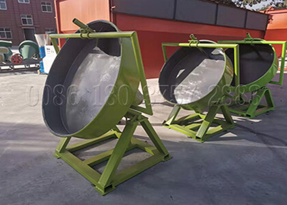 NPK fertilizer pan granulator
