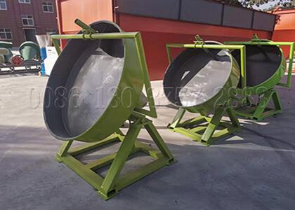 NPK fertilizer pan granulator