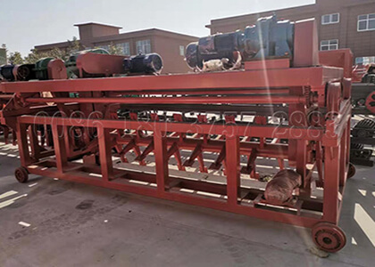 Organic waste fertilizer composting machine