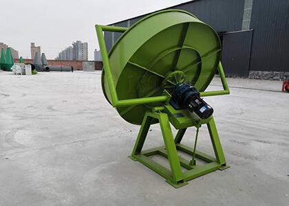 Plate type fertilizer granulation machine