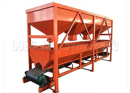 Static automatic batching machine for BB fertilizer making