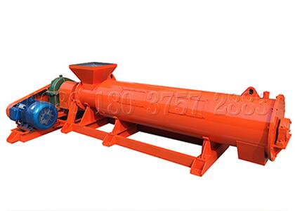 Waste fertilizer granulator