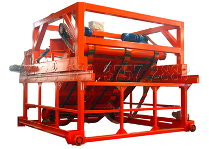 chain plate type compost turning equipment