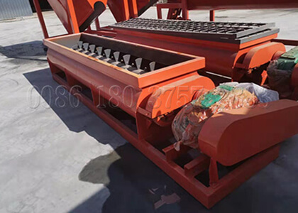 double shafts horizontal mixer