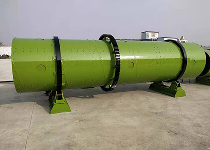 drum type fertilizer granulator