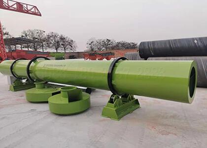 drying machine for organic fertilizer pellets making