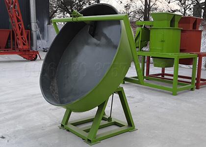 pan granulator for customer
