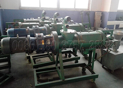 poultry manure dewatering machine