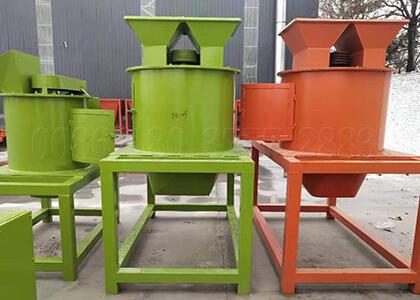 vertical fertilizer crushing machine in our factory