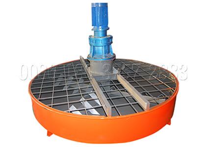 vertical pan powder mixing machine