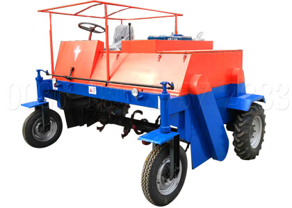 moving type windrow turner