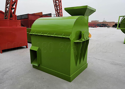 Composted organic manure pulverizer