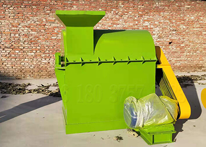 organic poultry manure fertilizer powder pulverizer