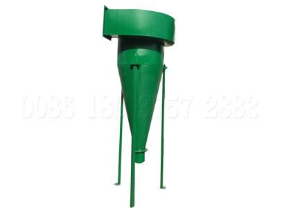 dust collection system for fertilizer production line