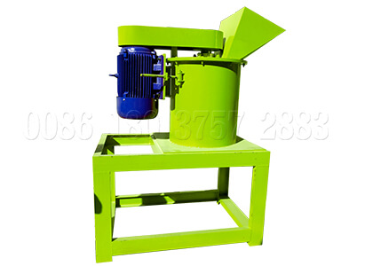 New vertical pulverizing machine
