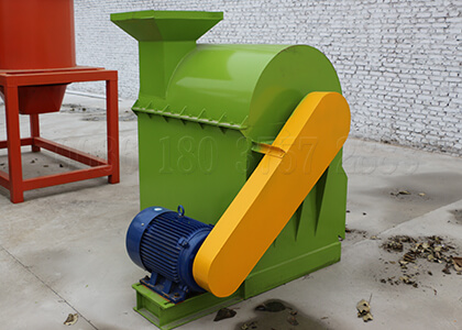 composted fertilizer pulverizing equipment