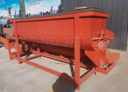 organic compost fertilizer powder mixing machine